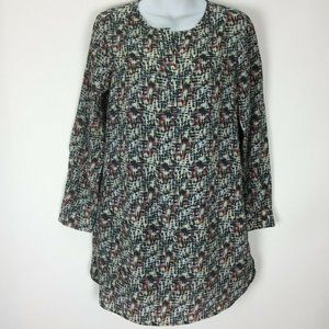 Collective Concepts XS Tunic Charcoal Gray Dress